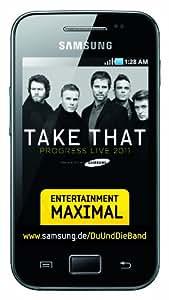 Samsung Galaxy Ace S5830 Take That Edition - Smartphone libre Android color negro [importado de Alemania]