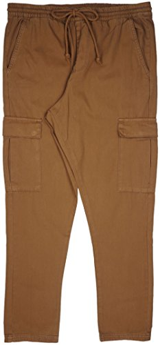 Elwood Men's Relaxed Cargo Pants in Military Brown. 29-34. (Elwood Pants compare prices)