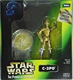 Star Wars Power Of The Force 2 C-3PO Millenium Minted Coin Figure