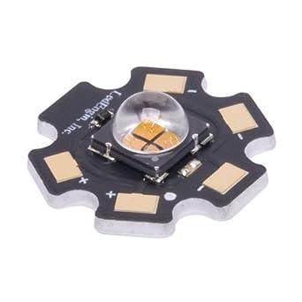 High Power LEDs - Single Color Amber, 590 nm 325 lm, 700mA: Amazon.com