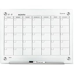 QRTGC2418F - Infinity Magnetic Glass Calendar Board