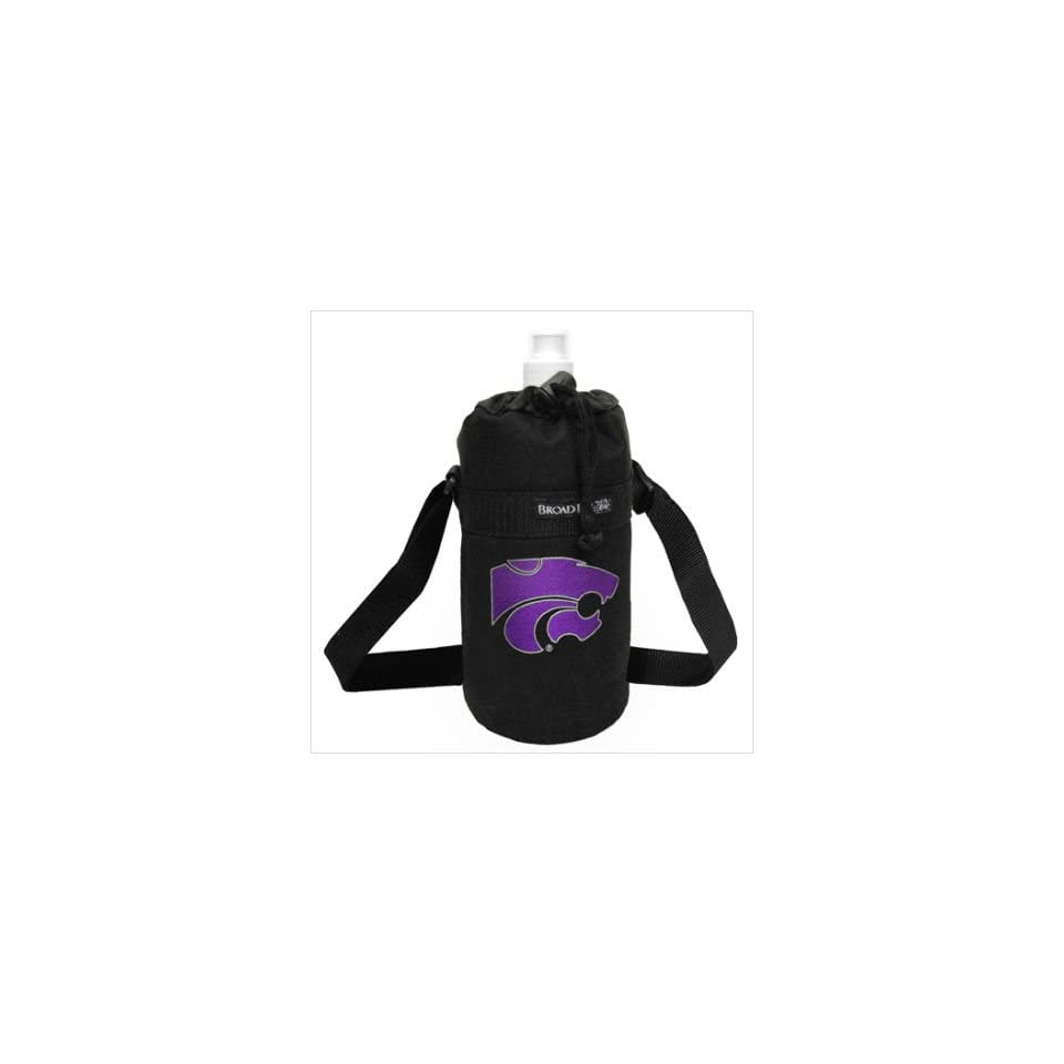 e14660bc347c K State Logo Water Bottle Holder and Bottle Kansas State University Sport  Fitness Workout Gifts and