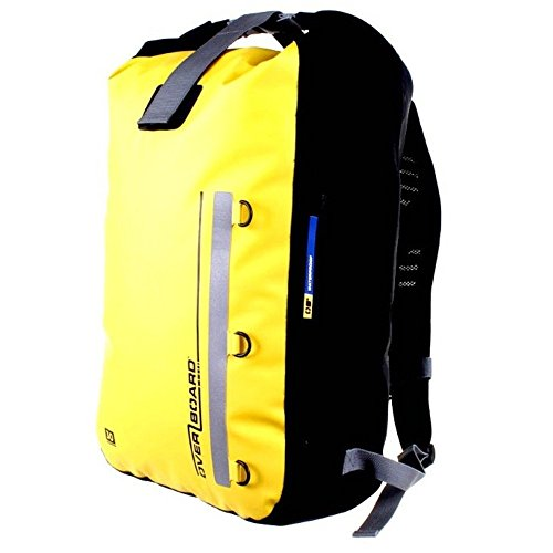 OVERBOARD 30 LITRE CLASSIC WATERPROOF BACKPACK (YELLOW)