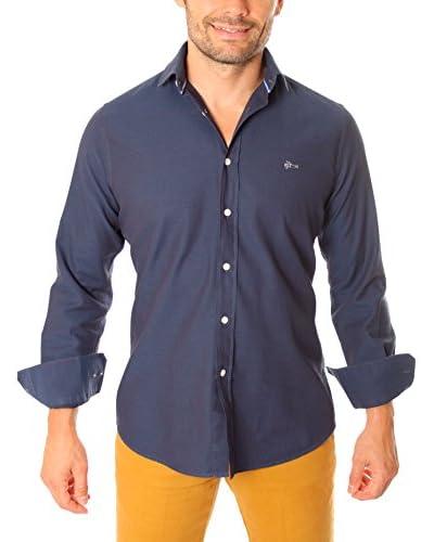VICKERS Camisa Hombre Duke Azul Claro