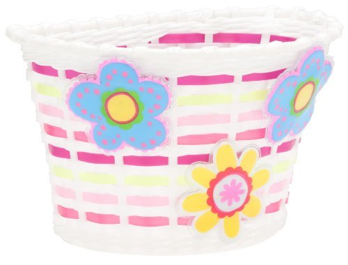 Motion Activated Lighted Flowers Improves Visibility In Low-Lit Areas - Schwinn Girl's Bicycle Lighted Basket