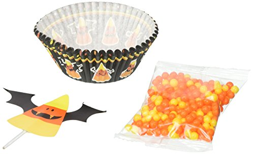 Wilton Candy Corn Cupcake Decorating Kit