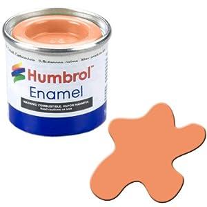 Humbrol 14ml No. 1 Tinlet Enamel Paint 61 (Flesh Matt)