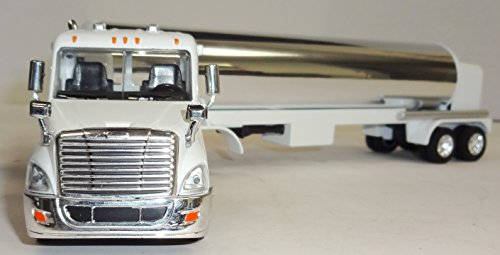 Die Cast Oil Tanker Truck - 1/64 Scale - All Diecast Construction - Chrome Tanker (Die Cast Promotions Trucks compare prices)