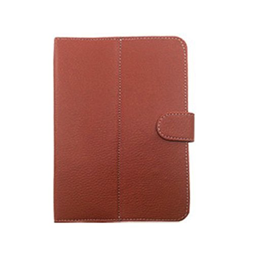 Garmor Flip cover For Micromax Canvas Tab P470 - 7 inch Tablet (Brown)