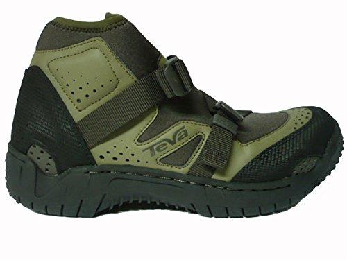 TEVA AVATOR SR OUTDOOR scarpe MID CANYONING RAFTING acqua scarpe nero verde taglia 39,5