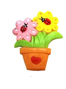 Potted Flowers Growing Water Toy by Ganz