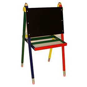 Beck Children's Wooden Pencil Art Easel