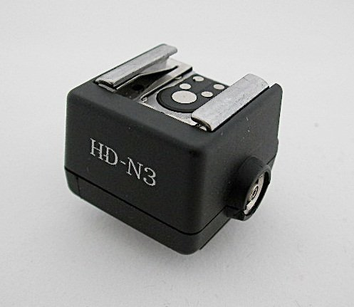 Hot-shoe Converter Adapter for Sony Camera to Nikon Canon Flash PC Socket