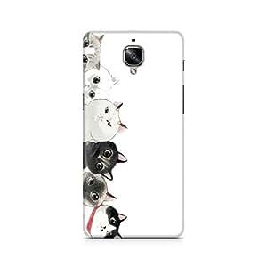 Ebby Cat Family Premium Printed Case For OnePlus Three