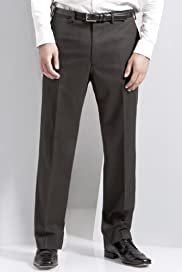 Autograph Wool Blend Flat Front Puppytooth Trousers [T18-4083a-S]