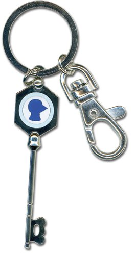 FAIRY TAIL(フェアリーテイル) 子犬座の星霊【ニコラ】の鍵 メタルキーチェーン(キーホルダー) / Import