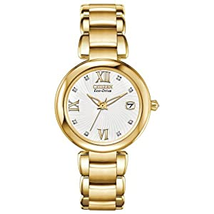 Citizen Women's EO1112-58A Marne Analog Display Japanese Quartz Gold Watch