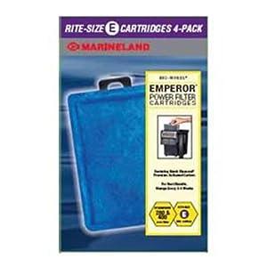 Marineland Rite-Size Cartridge E, 4-Pack