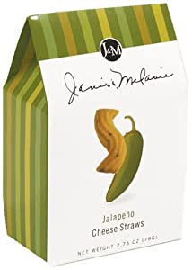J & M Foods Cheese Straws -Jalapeno 2.5oz(Pack of 12)