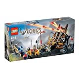 LEGO VIKINGS Army Of Vikings With Heavy Artillery Wagon (7020)