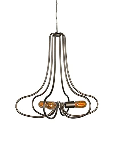 Varaluz The Whole Package 3-Light Chandelier, New Bronze
