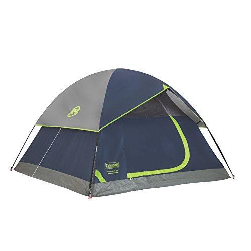 Coleman Sundome 3-Person Dome Tent, Navy/Grey (4 Person Backpacking Tent compare prices)