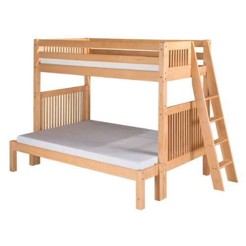 Twin over Full Mission Bunk Bed  Lateral Angle