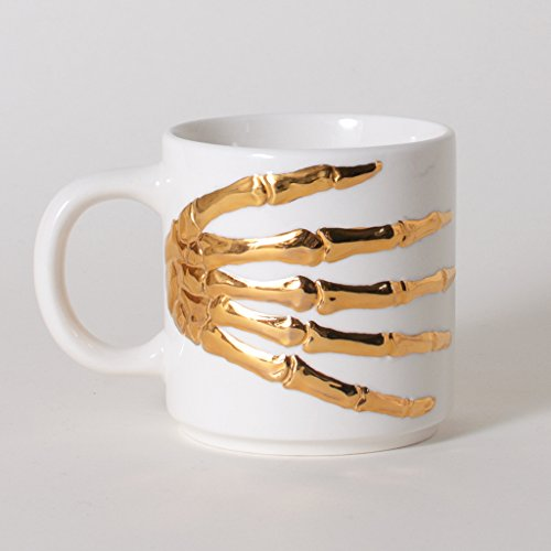 Skeleton Hands Coffee Mug