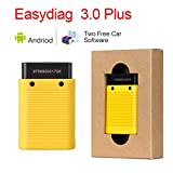 US Warehouse - 5pcs/Lot Launch EasyDiag 3.0/Plus OBDII Bluetooth Code Reader Android Scanner OBD2 16pin Cable PK EasyDiag 2.0 diagnostic tool - (Color: 3.0 plus only) (Color: 3.0 plus only)
