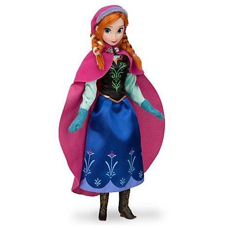 Disney US Disney official Frozen Frozen Anna Anna Classic Doll figure doll