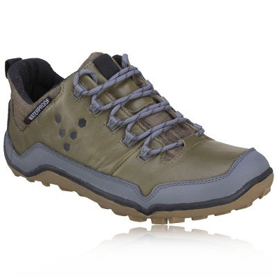 VivoBarefoot Lady Off Road Mid-Top Pull-Up Leather Walking Shoes - 9