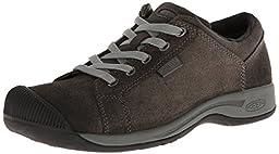 KEEN Women\'s Reisen Lace Shoe,Black,6 M US