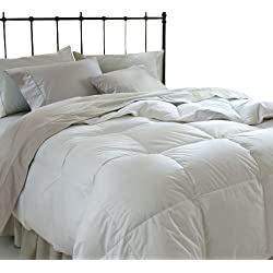 All Season Down Alternative King Comforter, White