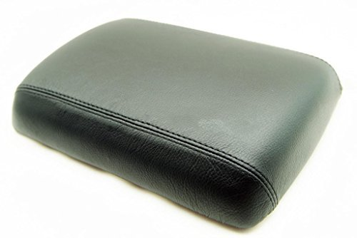 Fits 2005-2012 Nissan Pathfinder Real Black Leather Console Lid Armrest Cover . (Leather Part Only) (Nissan Pathfinder Armrest Cover compare prices)