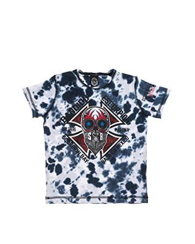 Scorpion Bay T-Shirt Manica Corta Jsb [Blu/Bianco]