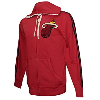 Miami Heat Adidas NBA Springfield Full Zip Hoodie L by adidas