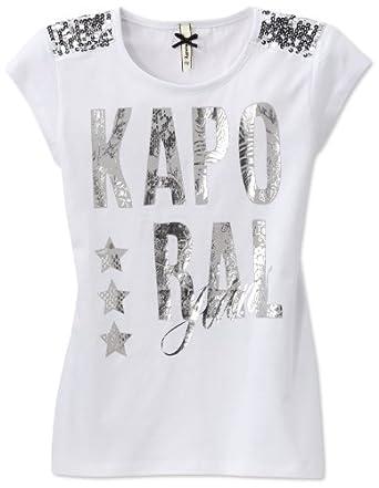 Kaporal - T-shirt - fille - blanc (white) - 8 ans