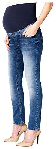 ESPRIT Maternity Pants Denim Otb Slim, Jeans Maternità Donna, Blu (Stonewash 930), W42