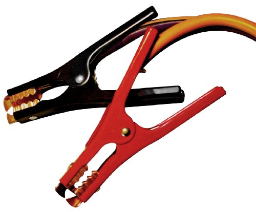 Motor Trend MTA416-CCA 16-Foot Jumper Cables with Extended Clamps, 500-AMP