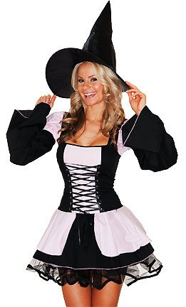 Amazon.com: Roma Costume Women's Love Spell Sexy Witch