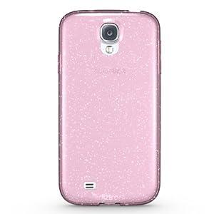 Diztronic Light Pink GlitterFlex TPU Case for Samsung Galaxy S4 - Retail Packaging