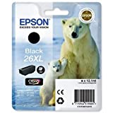 Epson 26XL - Print cartridge - 1 x black - 500 pages - for Expression Premium XP- 710, XP-510, XP-600, XP-605, XP-610, XP-615, XP-700, XP-800, XP-810