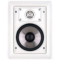 Leviton AEI80 Architectural Edition Powered By JBL Pair of 8-Inch In-Wall Speakers