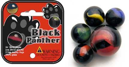 Black Panther Marbles - 1