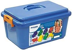 Miniland Minimobil 32 Container Units - Assorted (9 Cm, 3 4/8