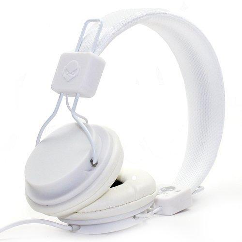 Subjekt Tnt Headphones With Mic (White)