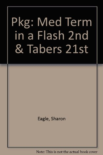 Pkg: Med Term In A Flash 2nd & Tabers 21st