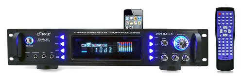 Buy Bargain Pyle P2002ABTI 2000 Watts Hybrid Receiver and Pre-Amplifier with AM-FM Tuner/iPod Dockin...