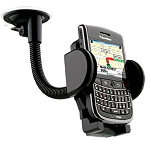 Solid Gooseneck Flexible Windshield Suction Cup Mount Holder For myTouch 4G Slide