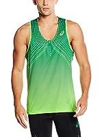 Asics Camiseta Tirantes L1 (Verde)